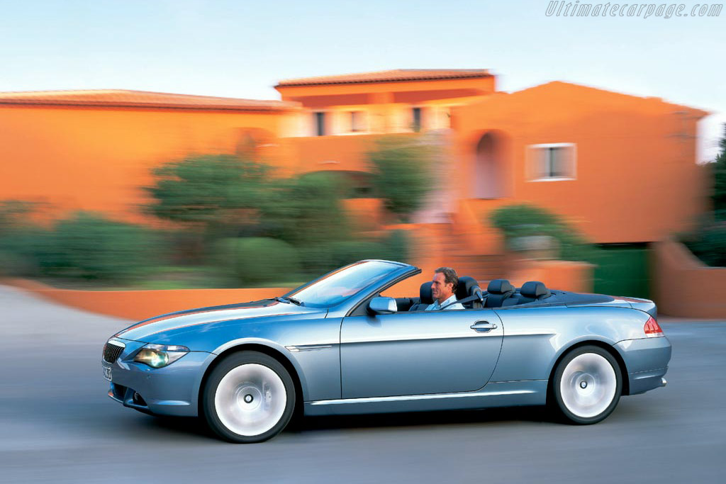 Click here to open the BMW 645 Ci Convertible gallery