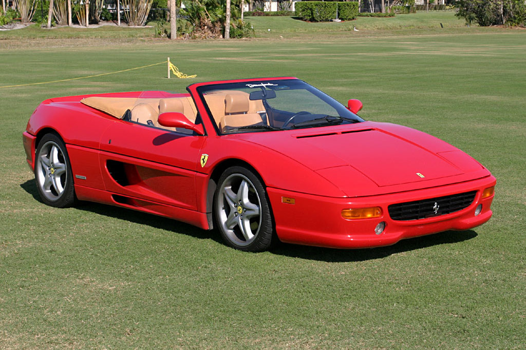 1995 - 1999 Ferrari F355 Spider - Images, Specifications and Information