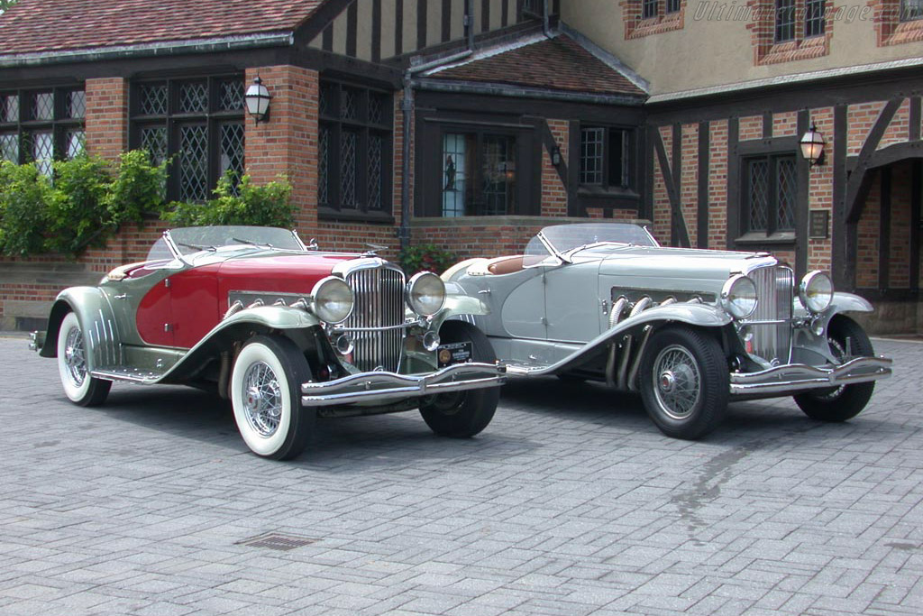 Click here to open the Duesenberg SSJ LaGrande Roadster gallery