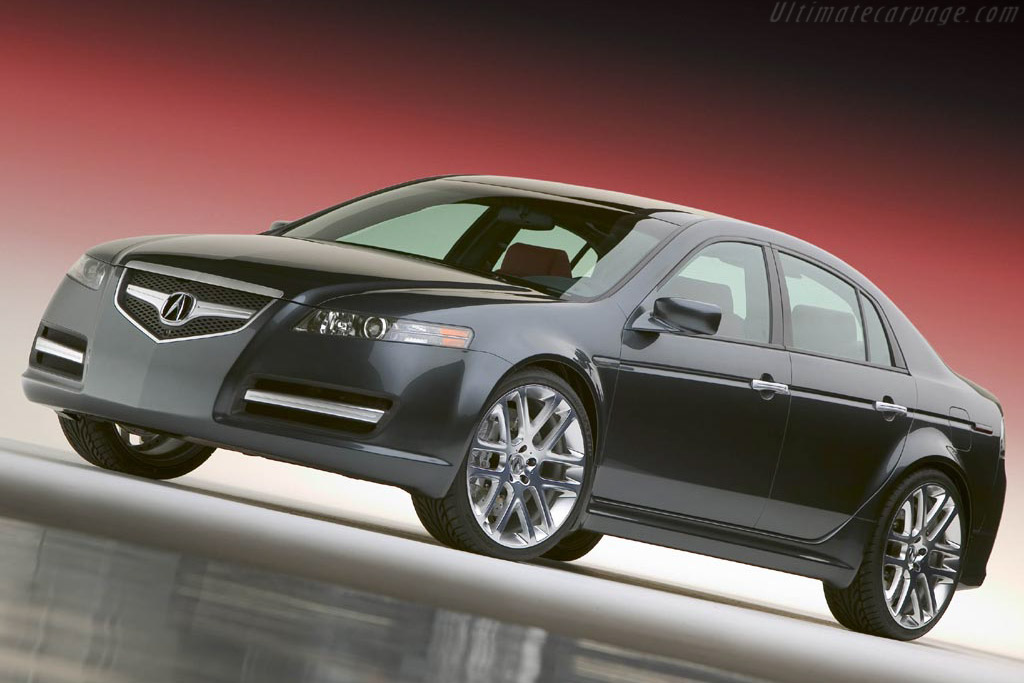 2004 Acura Tl A Spec Concept Images Specifications And Information