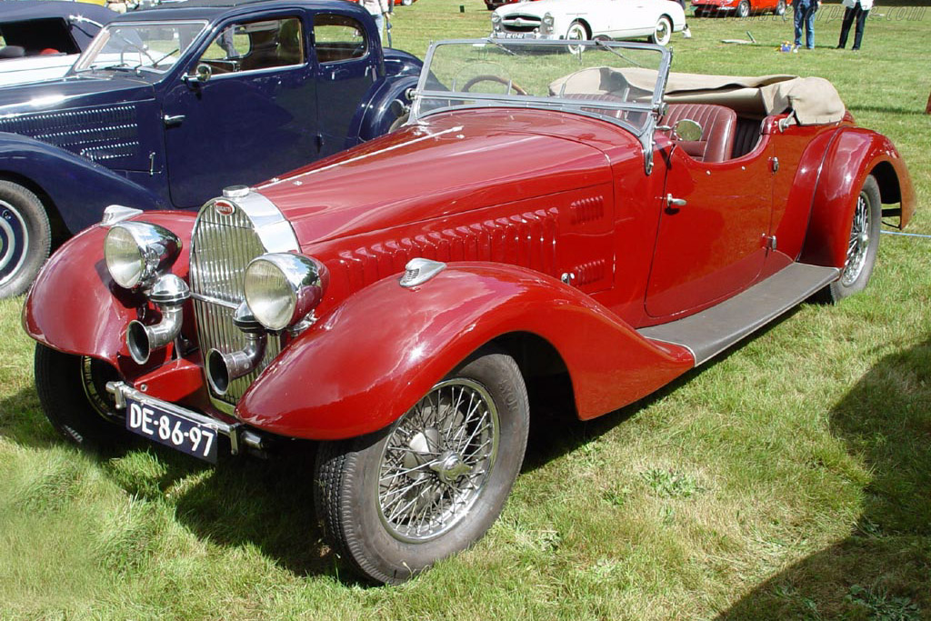 Bugatti Type 57 Stelvio Drophead Coupe - Chassis: 57323   - 2003 Concours d'Elegance Paleis 't Loo