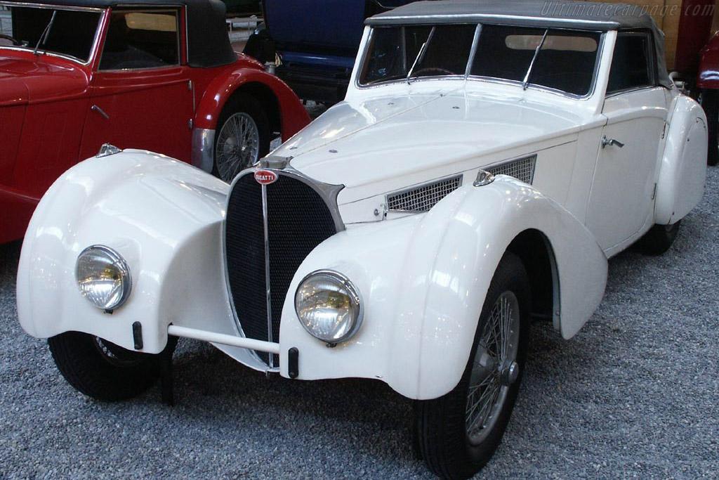 Click here to open the Bugatti Type 57 SC Aravis Drophead Coupe gallery