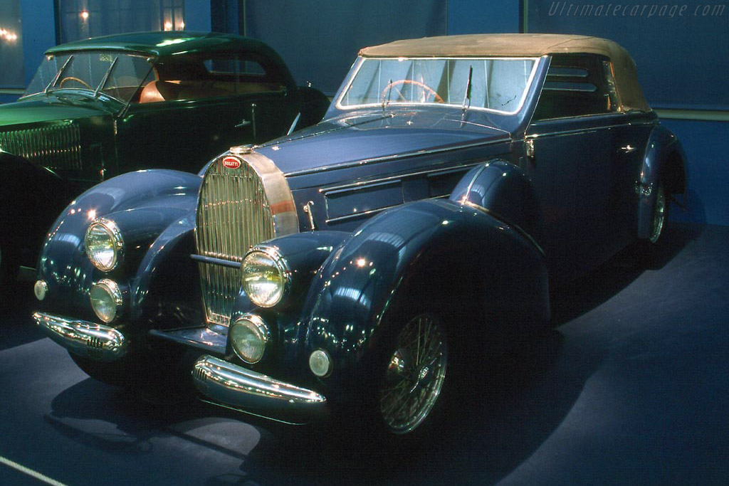Click here to open the Bugatti Type 57 C Stelvio Drophead Coupe gallery
