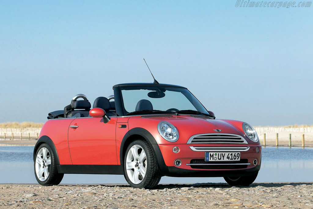 2004 mini cooper cabriolet images specifications and information. Black Bedroom Furniture Sets. Home Design Ideas