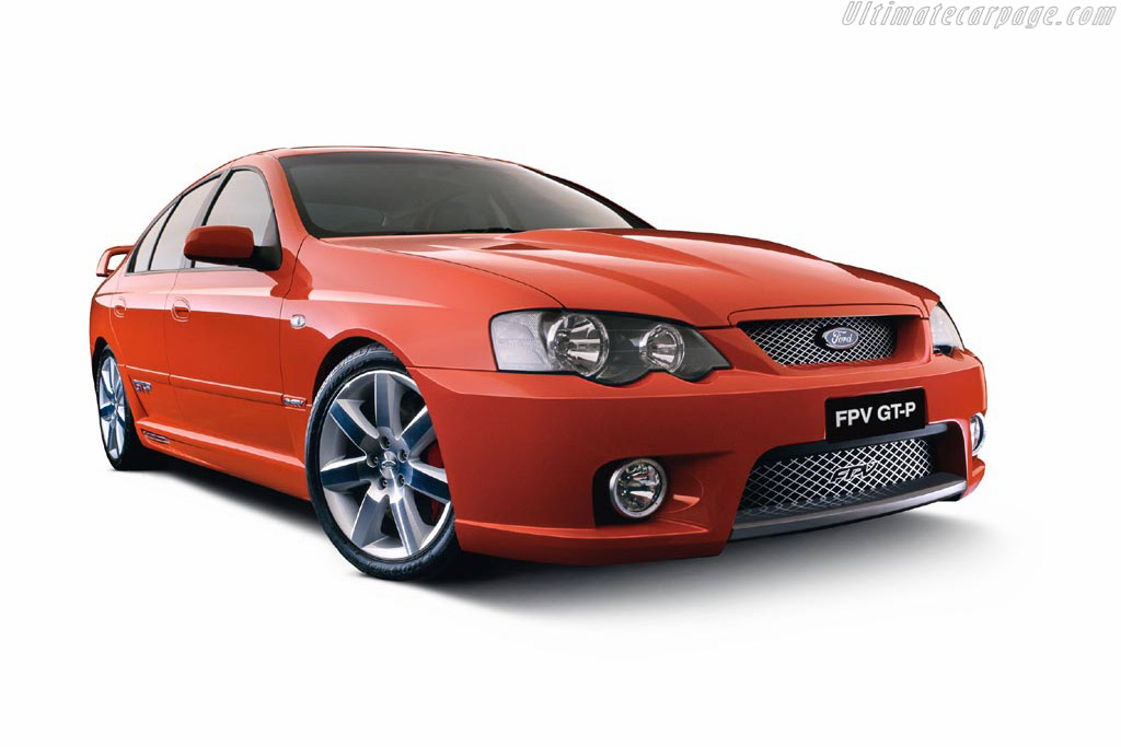 Click here to open the Ford BA Falcon FPV GT-P gallery