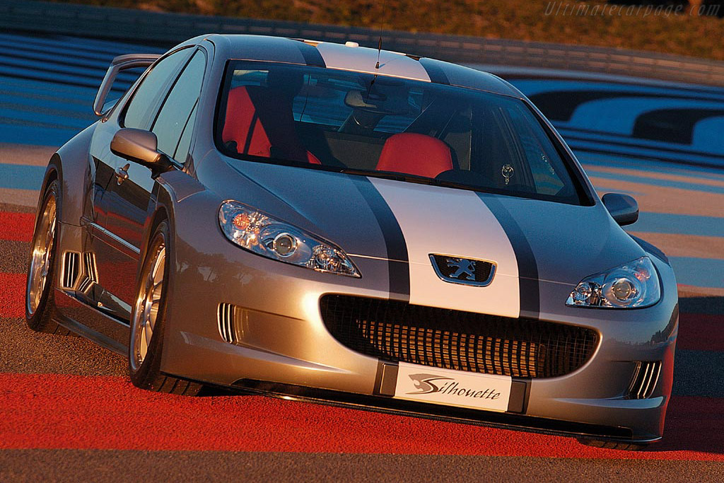 Click here to open the Peugeot 407 Silhouette gallery