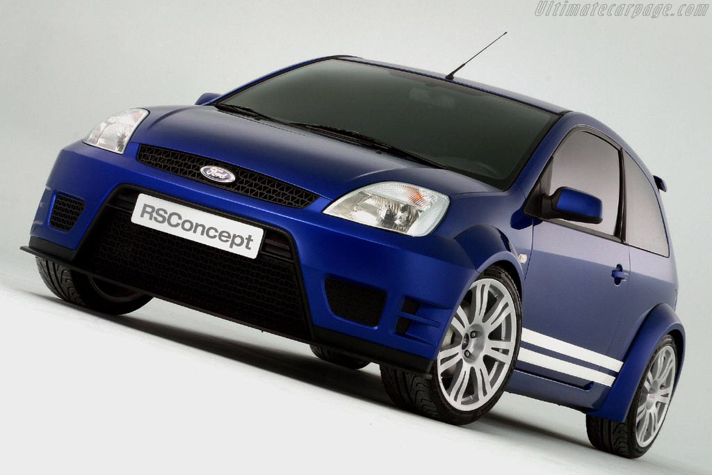 2004 ford fiesta rs concept images specifications and information