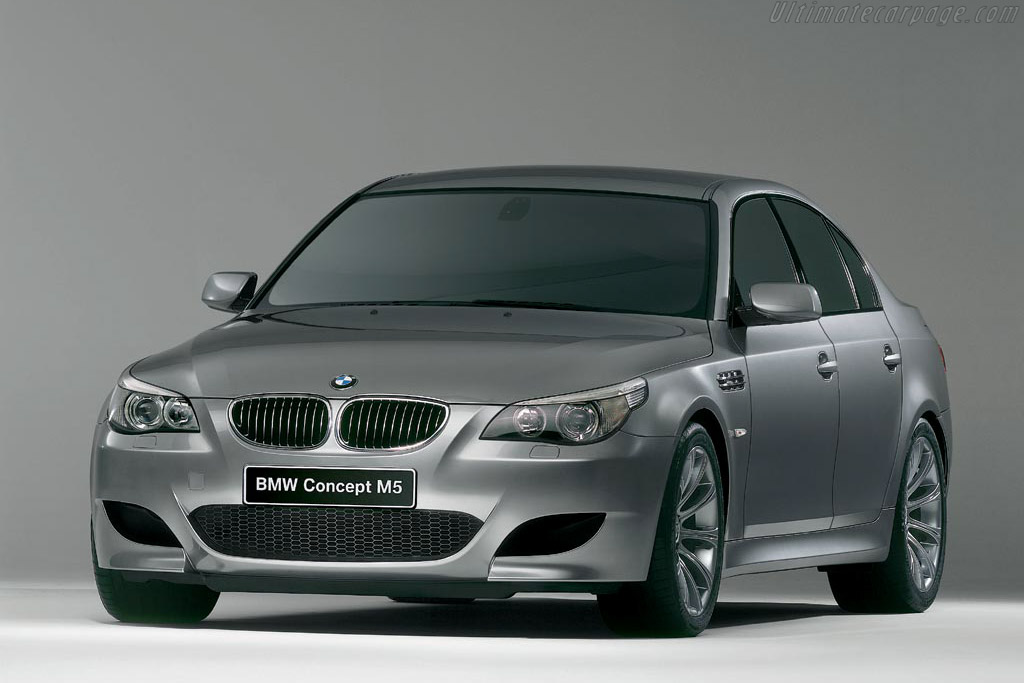 Click here to open the BMW M5 Concept gallery