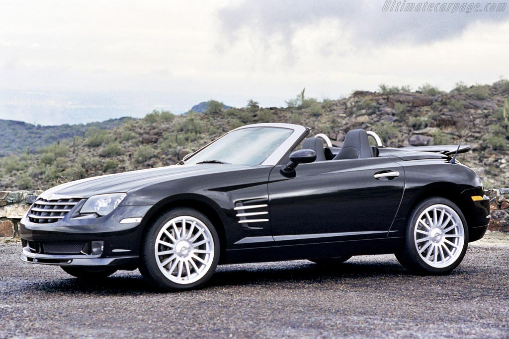 2005 2007 chrysler crossfire srt 6 roadster images specifications and information. Black Bedroom Furniture Sets. Home Design Ideas