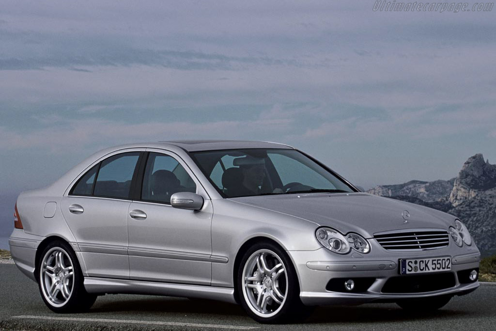 2004 mercedes benz c 55 amg images specifications and for Mercedes benz press release