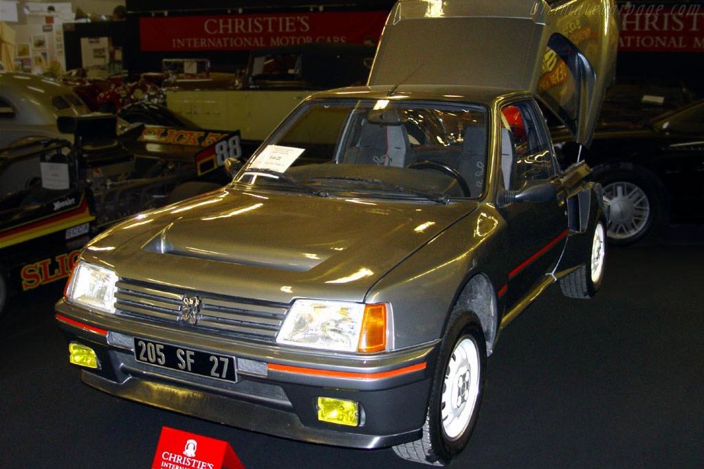 Click here to open the Peugeot 205 T16 gallery