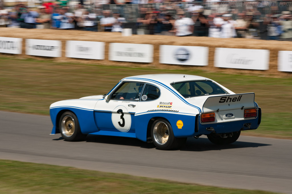 Ford Capri RS Cosworth - Chassis: GAECNA19997 - Driver: Jochen Mass - 2009 Goodwood Festival of Speed