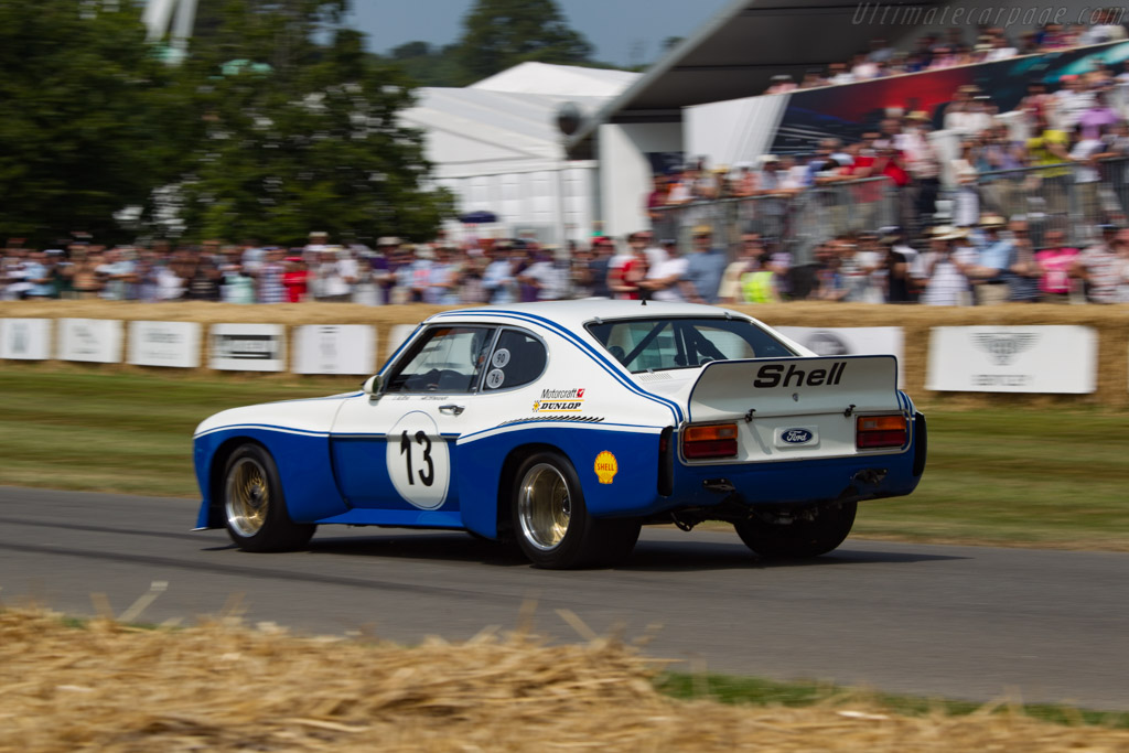 Ford Capri RS Cosworth - Chassis: GAECNA19997 - Driver: Emanuele Pirro - 2013 Goodwood Festival of Speed
