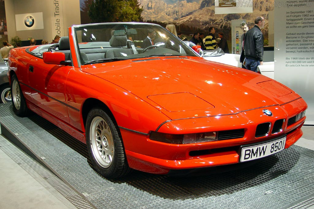 Click here to open the BMW 850Ci Cabriolet gallery