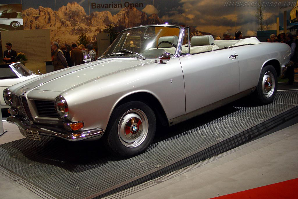 1962 BMW 3200 CS Cabriolet - Images, Specifications and Information