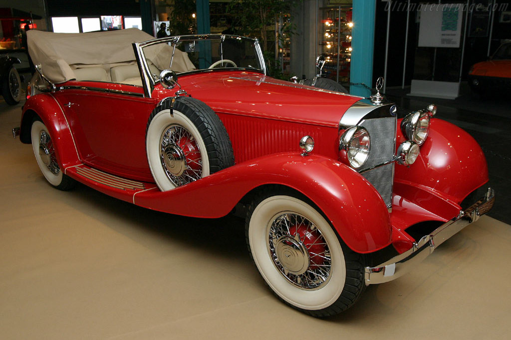 Click here to open the Mercedes-Benz 380 K Cabriolet C gallery