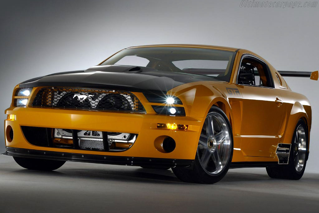 Click here to open the Ford Mustang GT-R Concept gallery