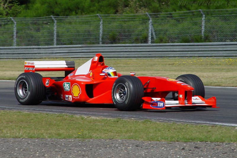 Click here to open the Ferrari F1-2000 gallery
