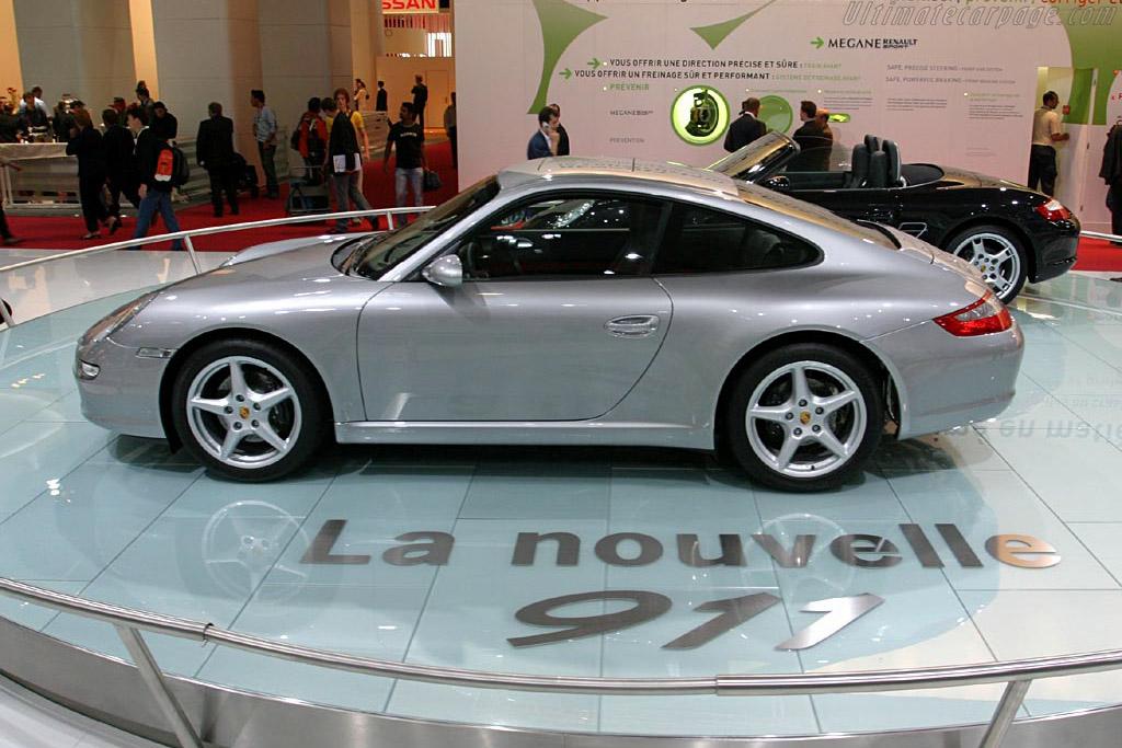 Porsche 997 Carrera    - 2004 Mondial de l'Automobile Paris