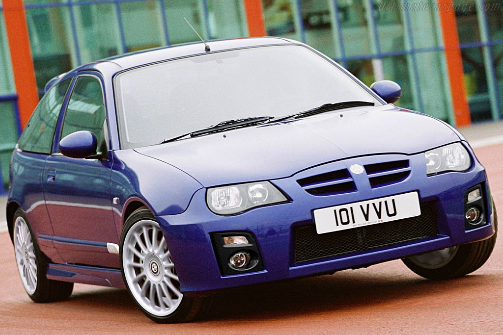 Click here to open the MG ZR 160 gallery