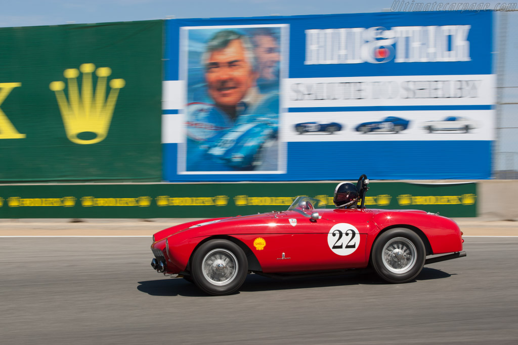 Ferrari 500 Mondial Pinin Farina Spyder - Chassis: 0408MD   - 2012 Monterey Motorsports Reunion