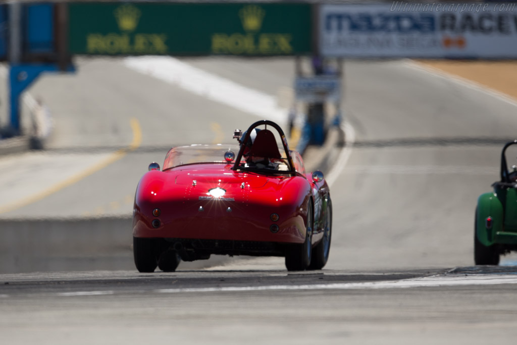 Ferrari 500 Mondial Pinin Farina Spyder - Chassis: 0408MD   - 2015 Monterey Motorsports Reunion