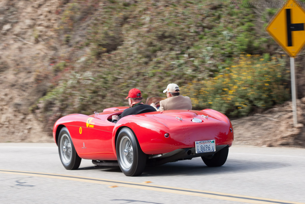 Ferrari 500 Mondial Pinin Farina Spyder - Chassis: 0418MD   - 2012 Pebble Beach Concours d'Elegance