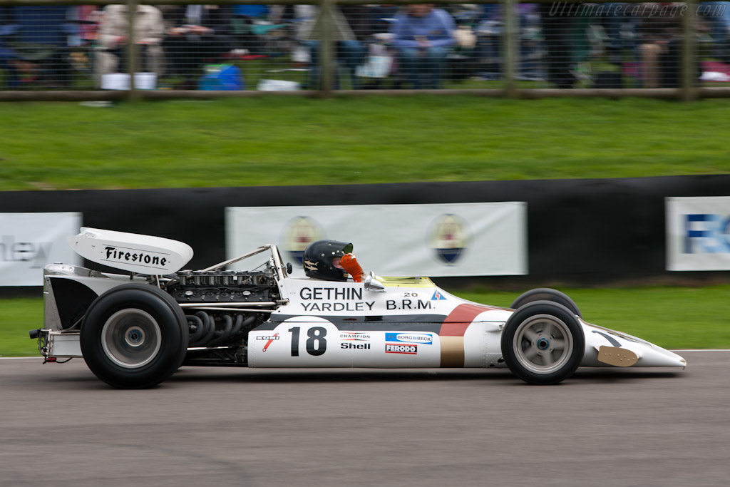 BRM P160 - Chassis: P160/01 - Driver: Peter Gethin  - 2010 Goodwood Revival