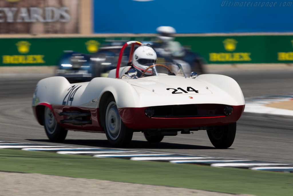 Abarth 207A Boano Spider - Chassis: 001   - 2015 Monterey Motorsports Reunion