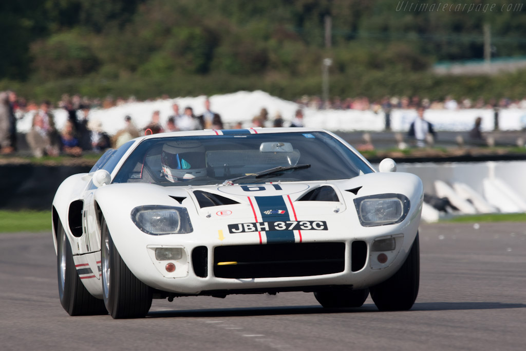 Ford GT40 - Chassis: GT40P/1003   - 2010 Goodwood Revival