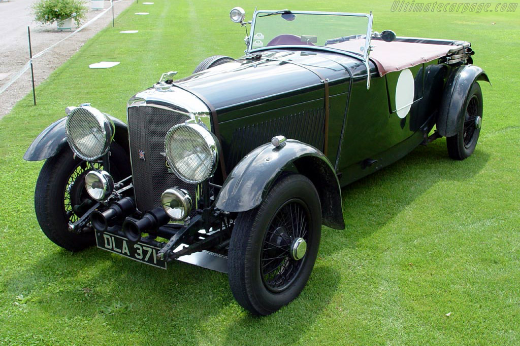 Click here to open the Bentley 4¼ Litre Open Tourer gallery