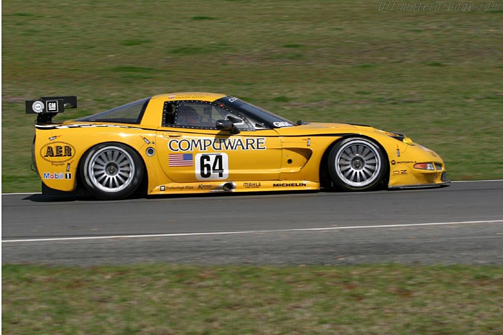 Chevrolet Corvette C5-R (Chassis 010 - 2004 Le Mans Test ...