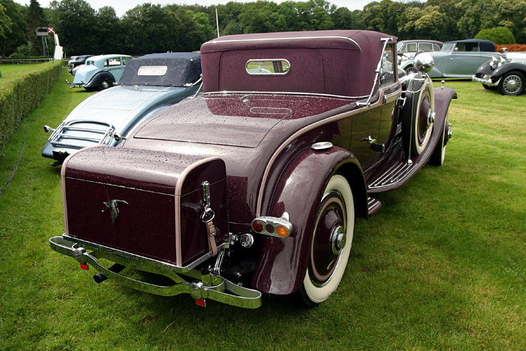 Hispano Suiza H6B Hibbard & Darrin Cabriolet - Chassis: 12034   - 2004 European Concours d'Elegance