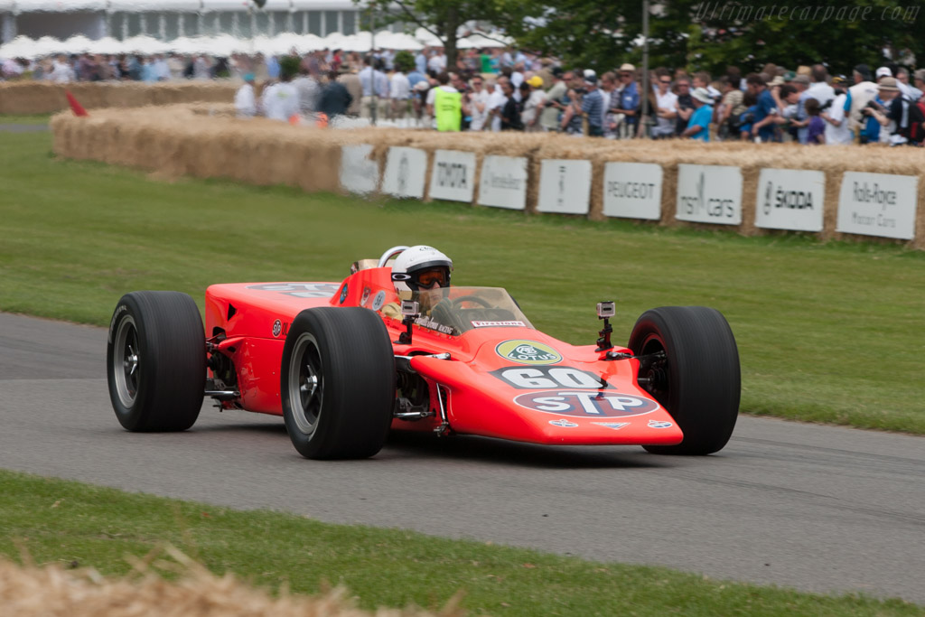 Lotus 56 Pratt & Whitney - Chassis: 56/1 - Driver: Lord March  - 2011 Goodwood Festival of Speed