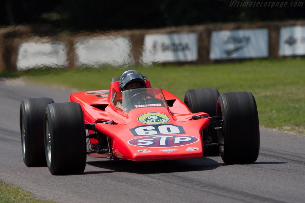 Lotus 56 Pratt & Whitney - Chassis: 56/1 - Driver: Parnelli Jones  - 2011 Goodwood Festival of Speed