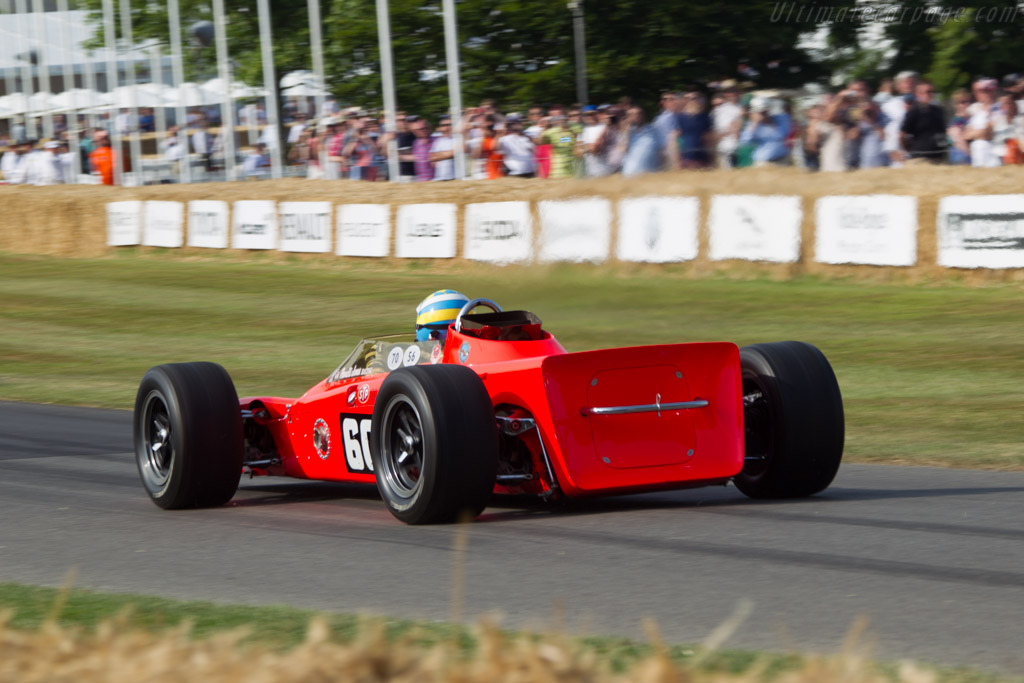 Lotus 56 Pratt & Whitney - Chassis: 56/1 - Driver: Kenny Brack  - 2013 Goodwood Festival of Speed