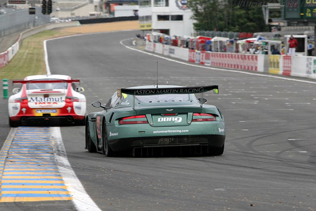 Aston Martin DBR9 - Chassis: DBR9/1   - 2005 Le Mans Test