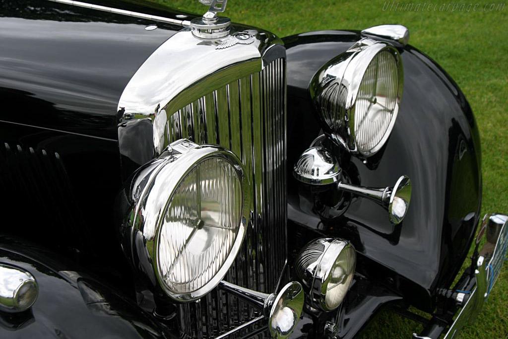 Bentley 4¼ Litre Erdmann & Rossi Sedanca    - 2004 European Concours d'Elegance