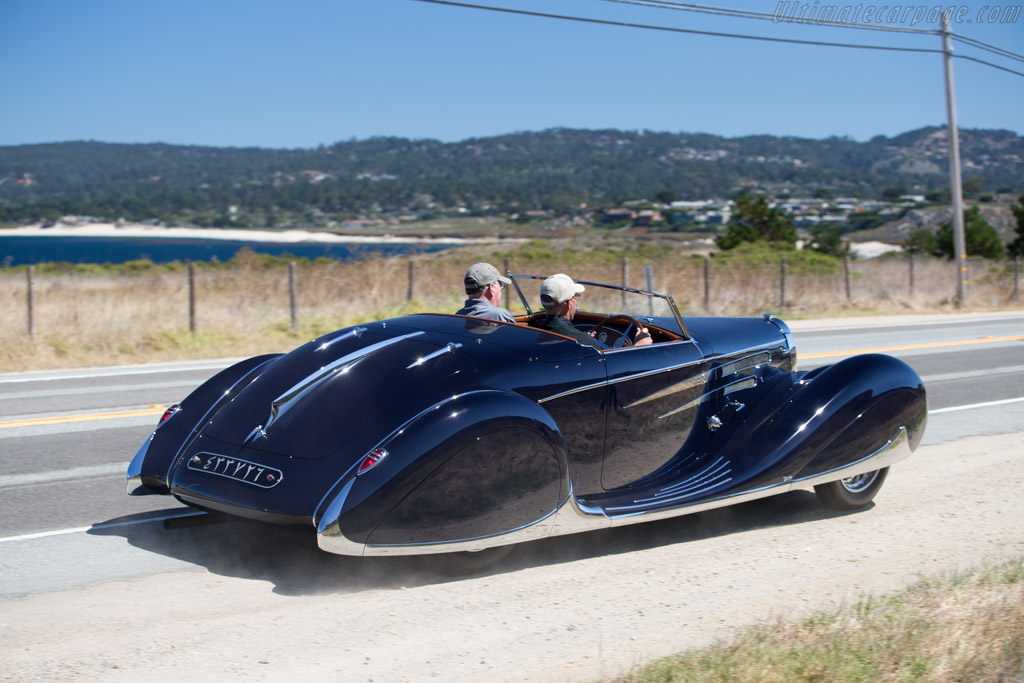 Bugatti Type 57 C Vanvooren Cabriolet - Chassis: 57808   - 2015 Pebble Beach Concours d'Elegance