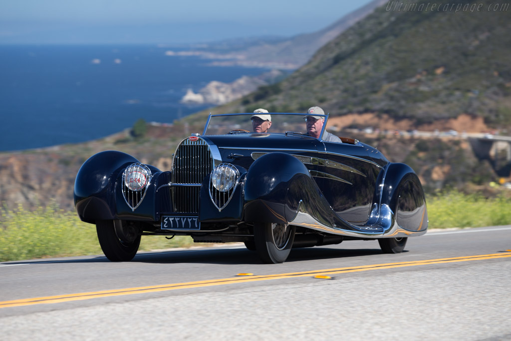 Bugatti Type 57 C Vanvooren Cabriolet - Chassis: 57808   - 2015 Pebble Beach Concours d'Elegance