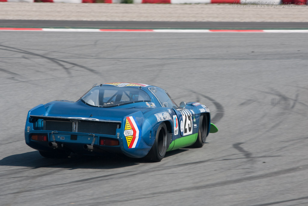 Alpine A220 - Chassis: 1736   - 2009 Le Mans Series Catalunya 1000 km