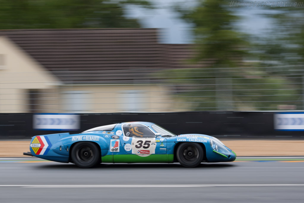 Alpine A220 - Chassis: 1736   - 2012 Le Mans Classic