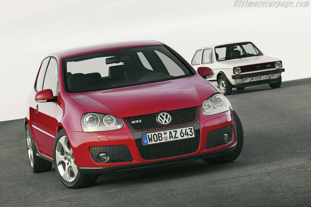 2005  2008 Volkswagen Golf V GTI  Images Specifications and