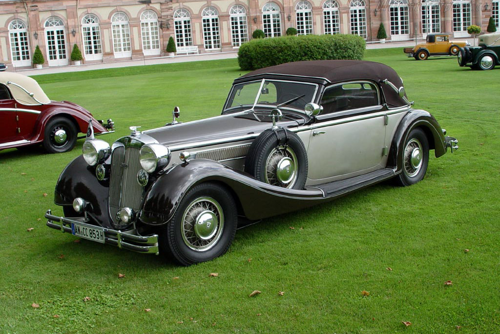 Click here to open the Horch 853 Sport Cabriolet gallery