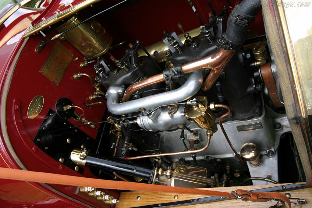 Mercedes 10/20 HP Erdmann & Rossi Phaeton    - 2004 European Concours d'Elegance