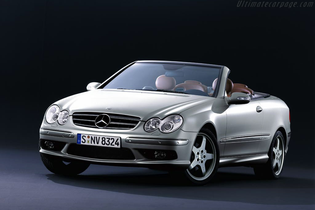 2004 mercedes benz clk 500 cabriolet 39 giorgio armani 39 images specifications and information. Black Bedroom Furniture Sets. Home Design Ideas
