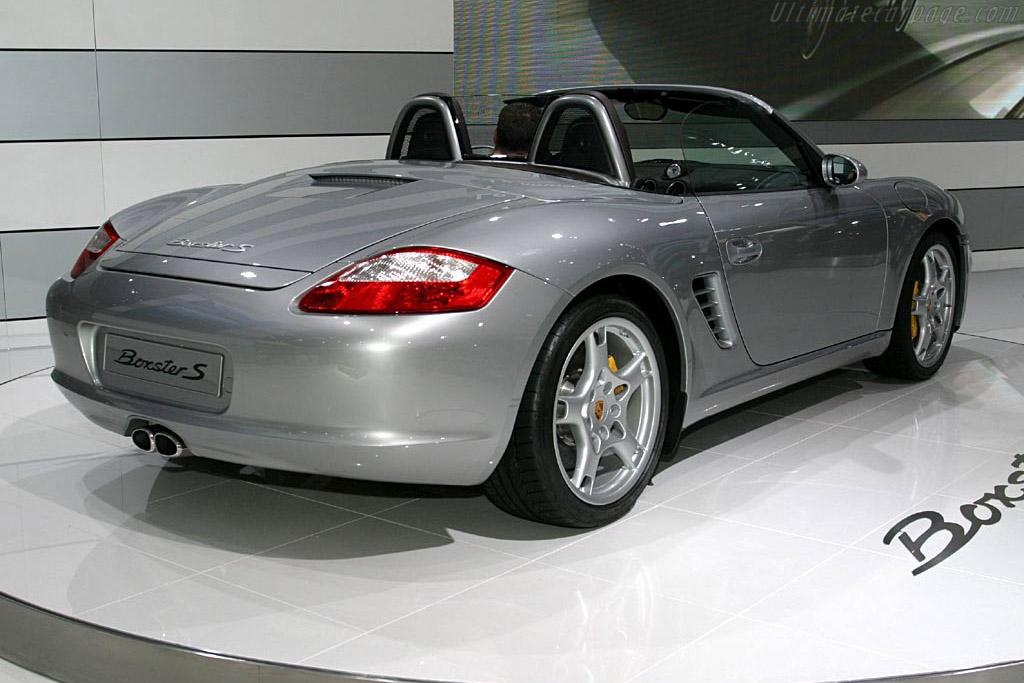 Porsche 987 Boxster S    - 2004 Mondial de l'Automobile Paris