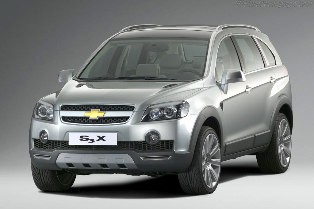 Click here to open the Chevrolet S3X Concept gallery