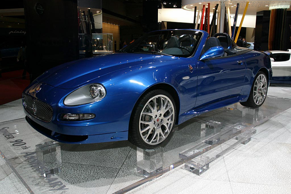 Click here to open the Maserati Spyder GT 90th Anniversary gallery