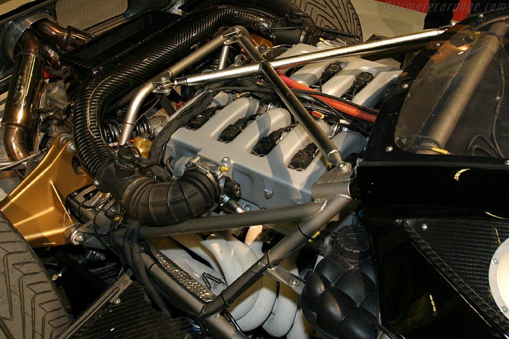 Pagani Zonda C12 S Monza    - 2004 Mondial de l'Automobile Paris